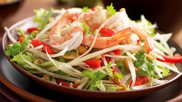 Essayer cet t la salade som tam - Cuisine thailandaise traditionnelle ...